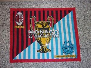 Drapeau OM Olympique Marseille Munich 93 coupe champions pas echarpe ultras CU84