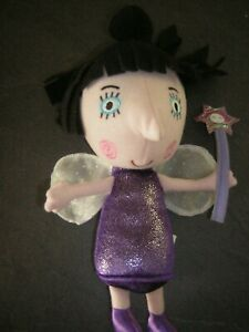 BEN AND HOLLYS LITTLE KINGDOM TALKING  NANNY PLUM SOFT TOY