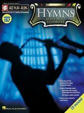 Hymns Jazz Play Along Book and CD NEW 000843217