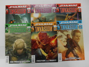 Star Wars - Invasion: Rescues #1-6 (+ #0), (DH), 6.5 FN+ to 9.2 NM-