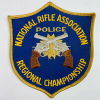 NRA Police Regional Championship National Rifle Association Patch (A2-A)