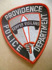 Patches: PROVIDENCE SEMPER VIGILANS POLICE PATCH (NEW* apx.11x10 cm)