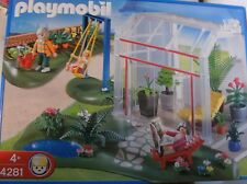 Playmobil jardín de invierno con solar terraza 4281 nuevo embalaje original & a casa 4279