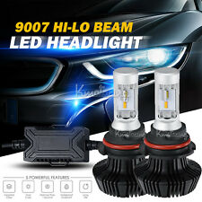 2pcs 252W HB5 9007 PHILIPS HI-LO Beam LED Headlights Bulbs 6500K 25200LM HID CAR