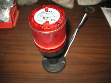 Siemens 8Wd4 400-1Ab Red Stack Light with 8Wd4 408-0Ad Base