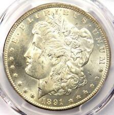 1891-CC Morgan Silver Dollar $1 - PCGS Uncirculated Detail (UNC MS with Damage)
