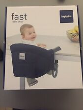 Inglesina Fast Table Chair Blue, Seggiolino da tavolo