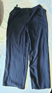 DOROTHY PERKINS - Womens Black casual loose pocketed Trouser. Size 10. vgc.