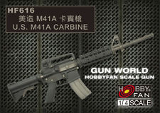 Hobby Fan 1:4 Scale Gun World U.S. M41A Carbine Resin Kit HF-616