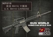 Hobby Fan 1:4 Scale Gun World U.S. M41A Carbine Resin Kit HF-616