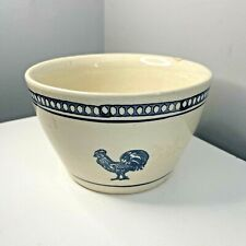 More details for antique old kitchen bowl perfect for eggs hen chicken sponge design kitchenalia