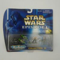1998 Galoob Toys Star Wars Episode 1Micro Machines Collection III 66500