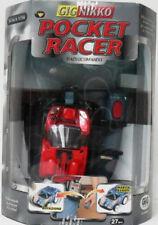 POCKET RACER RED C/RADIOCOMANDO 27 MHz-SC 1/36-GIG/NIKKO-NUOVO-BATTERIA INCERTA