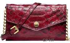 MICHAEL Michael Kors IPHONE 5 Croc Embossed Cinnabar Crossbody Purse