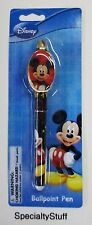 "2 - NEW DISNEY ""MICKEY"" MOUSE BALL POINT PEN 3+ ADULT OR KIDS (PQ)"