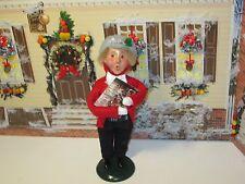 Byers Choice 2001 Boy with Advent Calendar