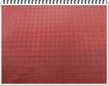"210D Nylon Ripstop""Brick Red"", Water Repellent,58""- 60"" wide ~ Commercial Grade"