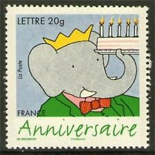 TIMBRE 3927 NEUF XX LUXE - 75 ANS DE BABAR L'ELEPHANT .