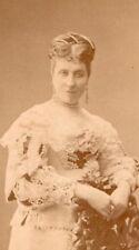Favart actress Comedie Française Nadar CDV Photo 1870'