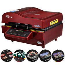 3D Sublimation Heat Press Machine For Phone Cases Mugs Cups Plates metal sheets