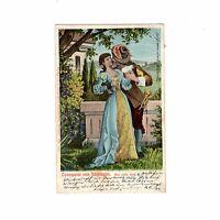 AK Ansichtskarte Der Trompeter von Säckingen / Der erste Kuss - 1907