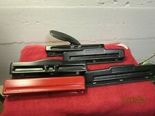 Lot Of 5 Three Hole Punch Paper Scrapbook Parties Acco Stanley Desk Top Models