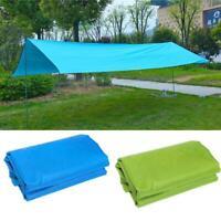 Waterproof Camping Tent Tarp Outdoor Awning Sun Shade Rain Shelter Mat new