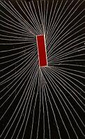 GARY C HATCHER SKEWED SOUL ABSTRACT MODERNIST VINTAGE SERIGRAPH PRINT 23/30