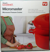 NEW As Seen On TV: Handy GOURMET® Micromaster® Microwave Pressure Cooker.