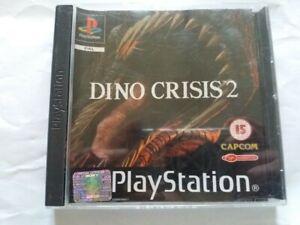 Dino Crisis 2 PS1 Playstation Rare Game With Manual Australian Seller PAL EU