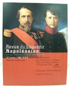 Revue du Souvenir Napoléonien - N° 451 - Février / Mars 2004 - TTBE