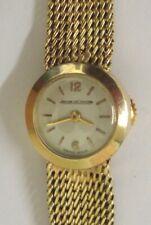 Ladies Jaegar LeCoultre 9ct Gold Wrist Watch - £1250