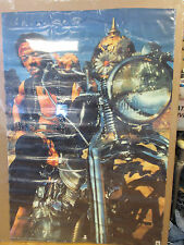 vintage Jimi Hendrix Motorcycle Large rock N' Roll poster 11683