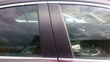 Vauxhall Insignia Carbon Fibre Effect Door Pillar Trim Sticker Kit