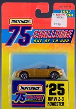 Matchbox MB 25 BMW Z-3 Roadster Gold Challenge 1997 New On Card