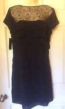*NEW* WOMENS BLACK DRESS - SIZE 12