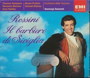 Rossini: Il Barbiere di Siviglia (CD, Sep-1993, 3 Discs, EMI Music Distribution)