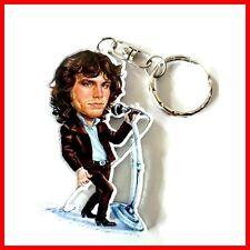 JIM MORRISON PORTE CLE The Doors Portrait Caricature Guitar miniature Rock 60 70