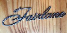 Vintage Ford FAIRLANE Emblem Badge Logo Sign