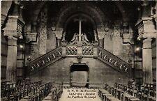 CPA Lyon-Basilique de N.-D. de Fourviére. La Crypte-Escalier (426853)