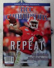 ACC CHAMPIONS Repeat DeShaun Watson CLEMSON TIGERS 2016 COLLEGE Football LINDYS