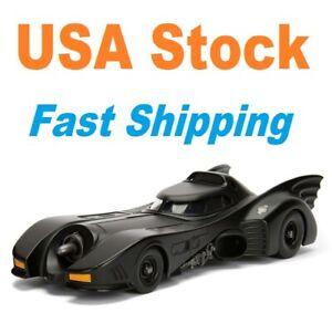 "Batman Batmobile, 1989 Batmobile, Jada, Diecast Model Toy Car, 5"", 1/32"