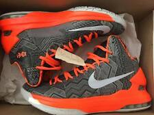 Nike KD 5 BHM Sz 9.5 v orange grey black history durant 2013 shoes 583107-001