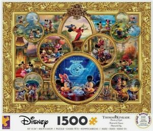 2019 THOMAS KINKADE DISNEY MICKEYS 90TH BIRTHDAY 1500 PCS