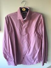 """Mens Red Check Tommy Hilfiger Shirt Uk Size 42"""" Chest 16.5"""" Collar"""