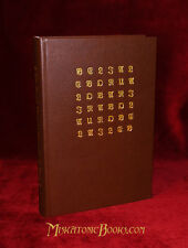 SACRED MAGIC OF ABRAMELIN THE MAGE, Grimoire, LIMITED, LEATHER, Aleister Crowley