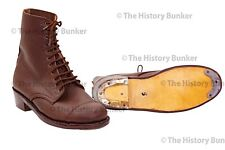 WW2 British ladies ATS boots - repro size 4 (uk) 5 (usa)
