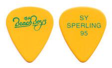 Beach Boys John Stamos Sy Sperling Yellow Guitar Pick - 1995 Tour