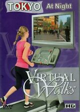 TOKYO AT NIGHT VIRTUAL WALK WALKING TREADMILL WORKOUT DVD AMBIENT COLLECTION NEW
