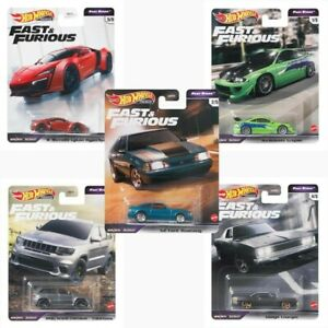 Hot Wheels 1:64 Fast & Furious Rapide Stars Set 5 Voiture Miniature GBW75-956L